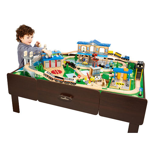 This Month S Featured Toy City Central Train Table Just